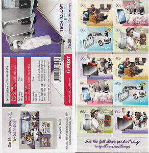 2012 Technology, Then & Now - Stamp Booklet SB401 (General Barcode)
