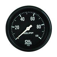 AutoMeter 2312 Autogage Oil Pressure Gauge