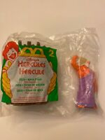 1996 McDonalds - Disney's Hercules Happy Meal Toy # 2 Zeus and Rock Titan NIP