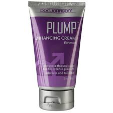 Doc Johnson Plump Enhancing Cream for Men 2oz Tube Sexual Wellness Bigger Bulge