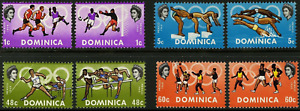 Dominica - 1968 - Sc 233 - 36 - Olympic Games, Mexico VF MNH