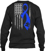 Autism Ribbon - Awareness Gildan Long Sleeve Tee T-Shirt