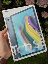 Samsung Galaxy Tab S5e WiFi + 4G/LTE Unlocked SM-T725 64GB Black with Book Cover