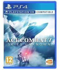 ACE COMBAT 7 SKIES UNKNOWN PS4 GIOCO ITALIANO VIDEOGIOCO PLAYSTATION 4 NUOVO
