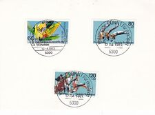 West Germany 1984 Sport Fund&4th International Horticulture Show Postcard FDC