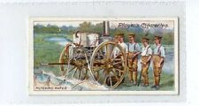 (Ja8315-100)  PLAYERS,ARMY LIFE,FILTERING WATER,1910#8