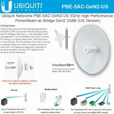 Ubiquiti PBE-5AC-Gen2-US 5 GHz PowerBeam AC, Gen2