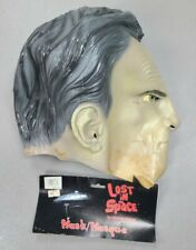 New listing 1998 Lost In Space Classic Series Dr. Smith Halloween Adult Size Mask