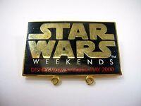 Collectible Pin: Star Wars Weekends Disney MGM Studios May 2000