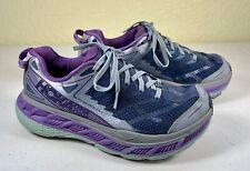 Hoka One One Stinson ATR 4 Purple Trail Running Athletic Shoes Women's Size 7.5