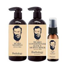 Barbology London Beard Shampoo, Conditioner & Oil Triple Pack
