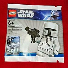 "Star Wars Lego ""WHITE BOBA FETT"" LIMITED EDITION 4597068 Factory Sealed Polybag"