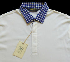 Men's POLO GOLF RALPH LAUREN White Vintage Lisle Shirt XXL 2XL NWT NEW AmAzInG!