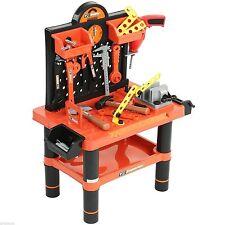 Kids 52pcs Workbench Tools Play Set Children Creative Building Workshop Kit Toy
