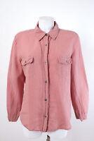 WEEKEND by Max Mara Bluse Gr. 42 / XL 100% Leinen Damenbluse Blouse Shirt