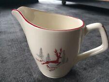 Vintage Crown Devon Stockholm Pattern Milk Jug / Creamer