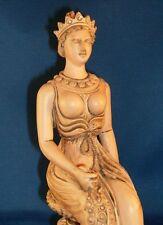 Greek Goddess Hera Queen of Heaven Roman Goddess Juno Museum Replica Statue #HE