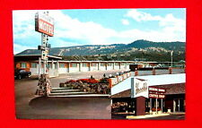 Courtesy Inn Motel & Harold's Restaurant Kamloops British Columbia Postcard msc4