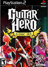 Guitar Hero 3 Disc Set PS2 New Playstation 2