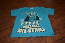 A9- 37th Annual Arkansas Rice Festival T-Shirt Size Youth Small