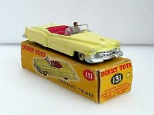 DINKY 131 CADILLAC TOURER. EXCELLENT MODEL IN WORN COMPLETE ORIGINAL BOX.