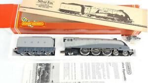 "HORNBY R099 LNER A4 #2512 ""SILVER FOX"" T/DRIVE V.GOOD COND+RUNNER BOXED OO(UQ)"