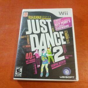 Just Dance 2 Nintendo Wii Ubisoft Bink Video Rad Game Tools Everyone 10+