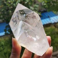 """350g RARE NATURAL """"Pyramid"""" Clear Quartz Crystal Point Healing W1256"""