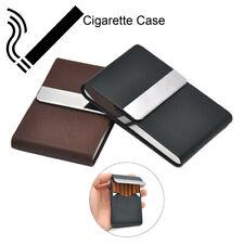 Aluminum Cigar Cigarette Case Tobacco Holder Pocket Box Storage Container Slim