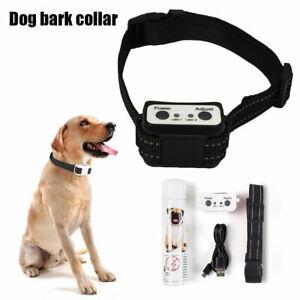 Rechargeable Stop Barking Citronella Dog Anti Bark Collar Mist Spray Controller