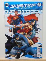 Justice League Rebirth #1 Variant Edition D.C. Universe Comics  CB5052