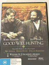 Good Will Hunting - Robin Williams - Matt Damon DVD Brand New