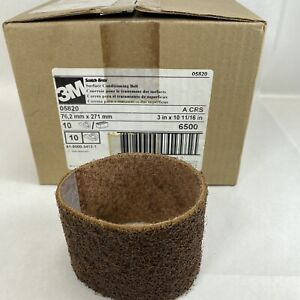 3M Scotch-Brite Surface Conditioning Belt, 3 in. x 10-11/16 in A CRS QTY (10)