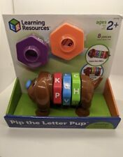 Learning Resources 8-pc. Pip The Letter Pup Toy, Ages: 2+