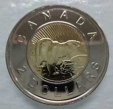 2006L CANADA TOONIE PROOF-LIKE TWO DOLLAR DOUBLE DATE 1996-2006 RCM LOGO COIN