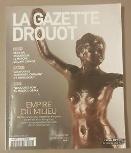 La gazette Drouot, Avril 2019. Arts. Magazine