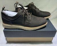 New Men's UGG Union Derby Stout Leather Sneaker Size 11 Waterproof Shoes Brown