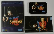 Sega Mega Drive Japan Spiel The Super Shinobi CIB OVP BOX NTSC Sammlung TOP RAR