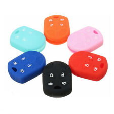 1PC 4 Button Car Remote Silicone Key Case Cover Fob Protecter for Ford Universal