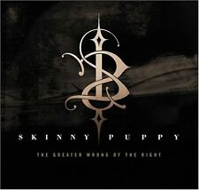 SKINNY PUPPY The Greater Wrong of the Right CD 2004
