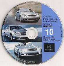 2002 2003 2004 2005 Mercedes Benz G 500 G500 G55 Navigation CD # 10 CANADA Map
