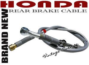 HONDA SUPER HAWK CB77 CB72 250 305 REAR BRAKE CABLE