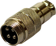 Radio cb mic microphone 4 broches flying socket connecteur direct