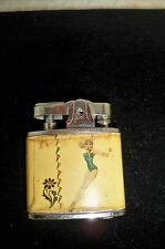 Vintage Lighter  Pinup Girlie Partner Atomic Super Lighter