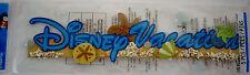 NEW 5 pc DISNEY VACATION Sand Beach Starfish Summer 3D Title Stickers JOLEE'S