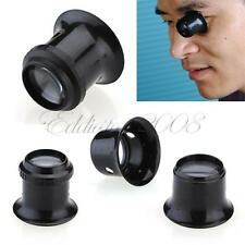 Watch Eyes Loupe 5X Jeweller Optical Glass Magnifier Magnifying Len Tool