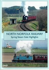 North Norfolk Railway - Spring Steam Gala Highlights. DVD.