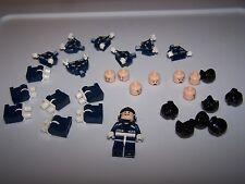 LEGO® minifigure super heroes hero agents of shield figure x8 helmet flesh head