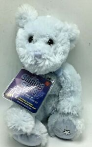 "NWT Russ Shining Stars 10"" Blue Teddy Bear Stuffed Plush with Code - NEW Sealed"