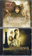 "HOWARD SHORE - ENYA ""THE LORD OF THE RINGS"" LOT OF 2 SOUNDTRACKS CD - AS NEW"